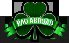 PAO ABROAD logo